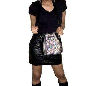 Handbags - Crossbody Bag with multicoloured Graphic Design